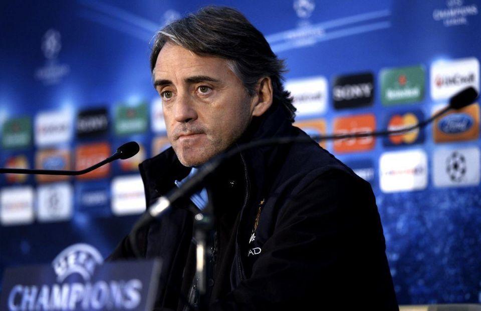 Mancini bemoans lack of depth in Man City squad