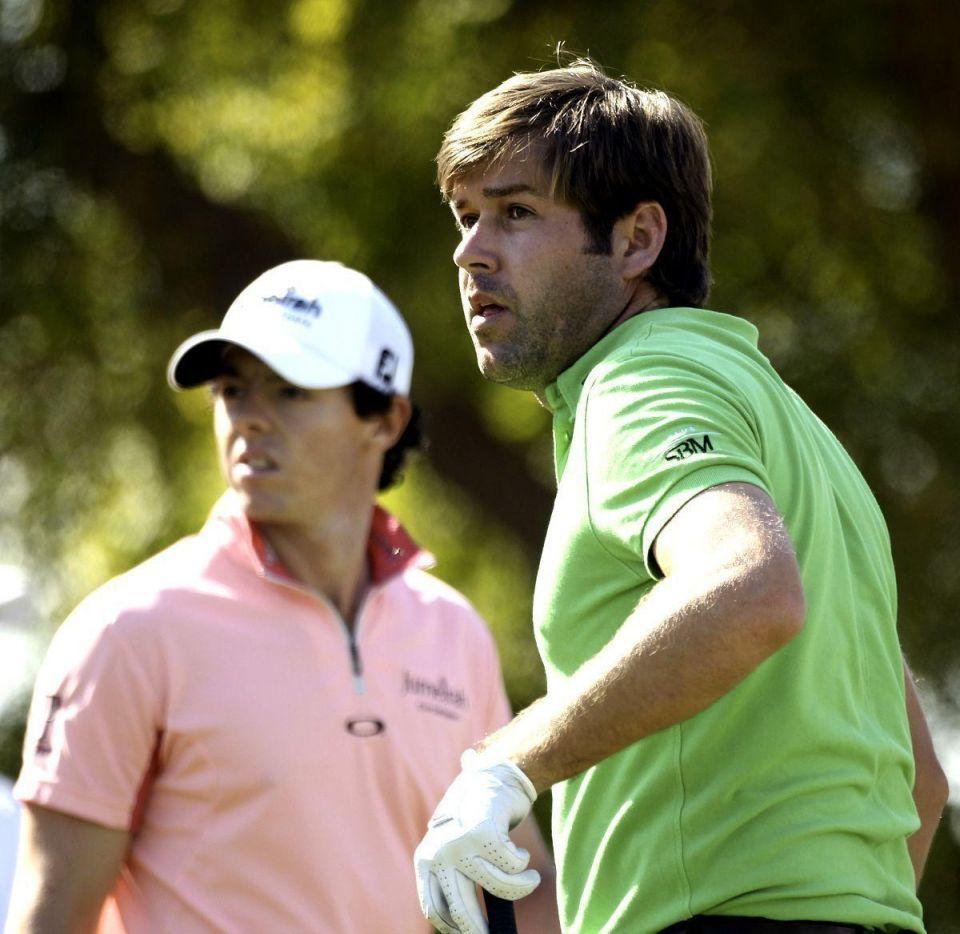 Spain's Alvaro Quiros closes in on double win in Dubai