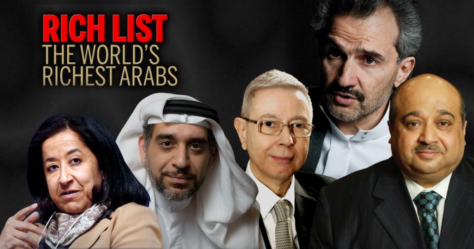 Alwaleed tops Arabian Business Rich List with $21.3bn