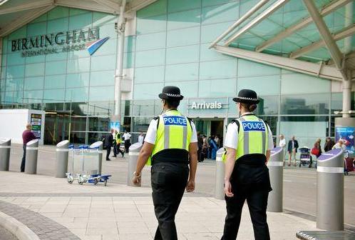 Terror suspect held in UK after arriving on Dubai flight