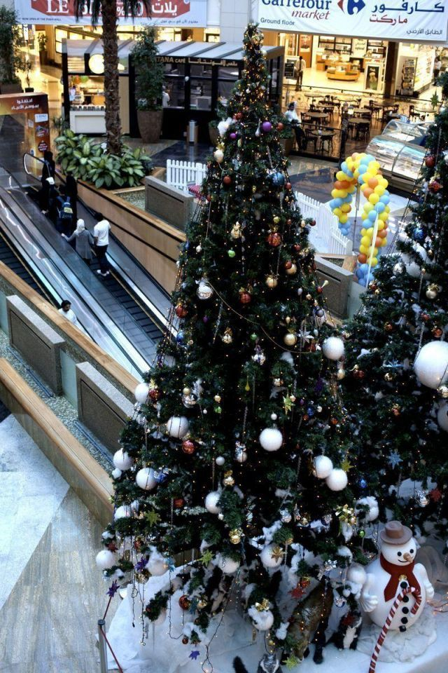 Dubai's luxury hotels, malls gear up for Christmas