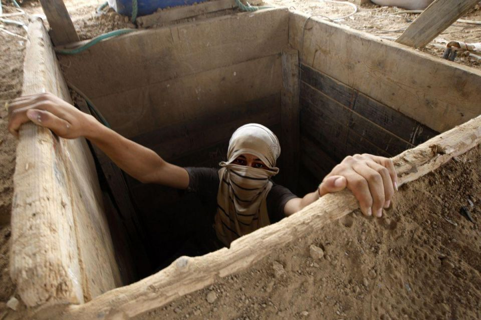 Gaza's thriving tunnel imports unleash building boom