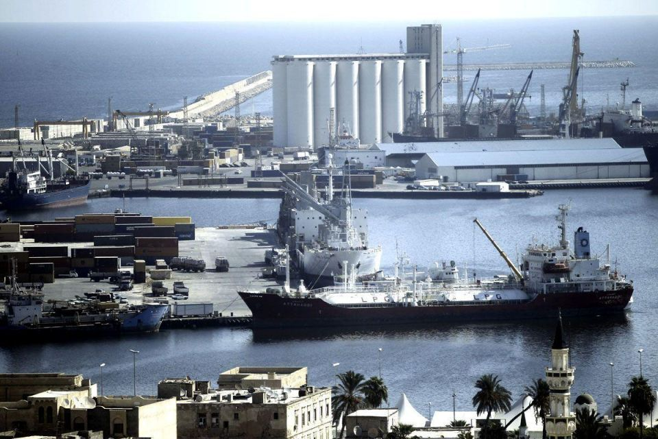 Workers at Tripoli's battered port strike for overhaul