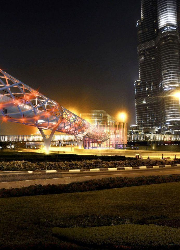 Glass tunnel set to link metro to Dubai Mall