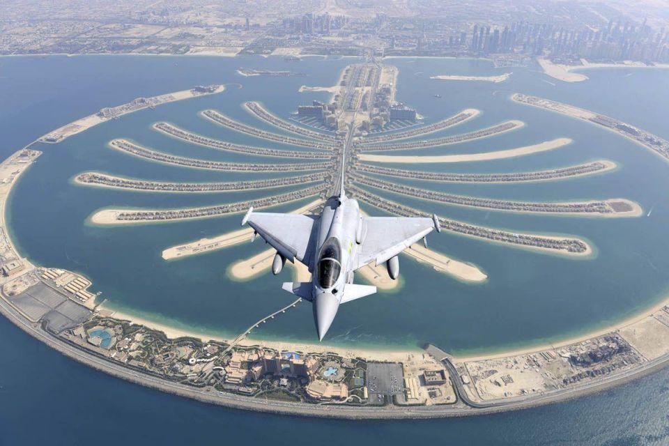 UAE, UK say plan defence partnership around Typhoon