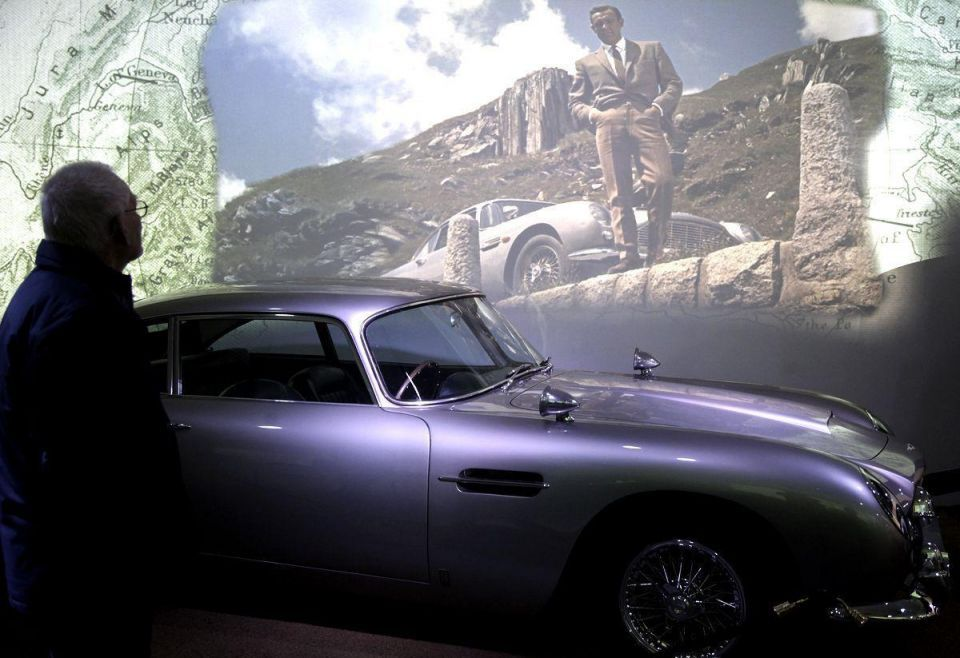 James Bond getaway cars get chance to live twice
