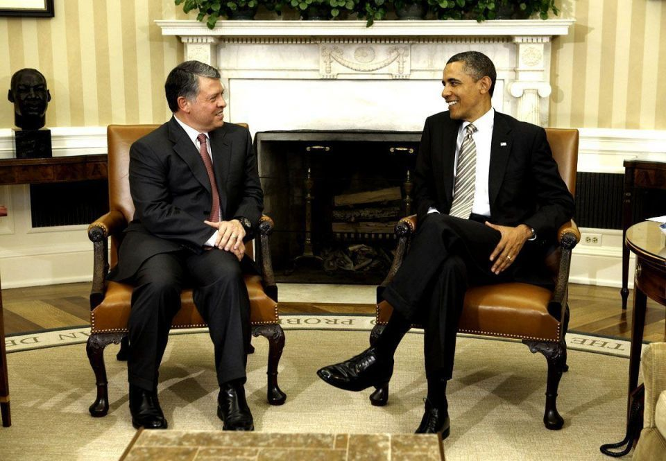 Syria in the spotlight as Jordan's King meets with Obama