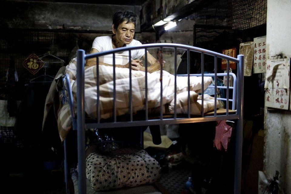 Life behind bars: struggle of Hong Kong's 'caged' poor