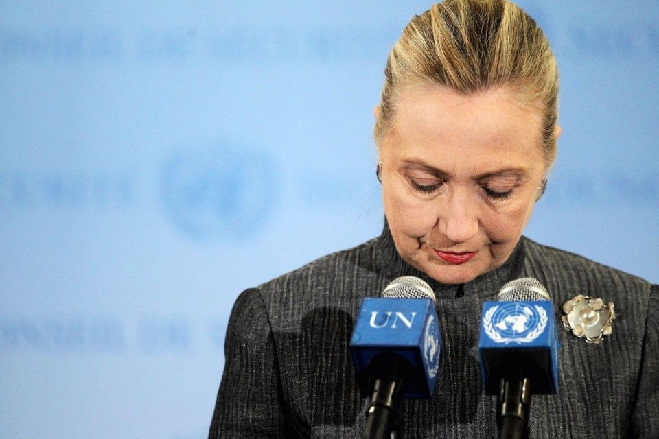 """Clinton: """"regret"""" over closure of US-backed group in Dubai"""