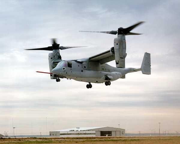 US gov't eyes UAE for V-22 Osprey deal