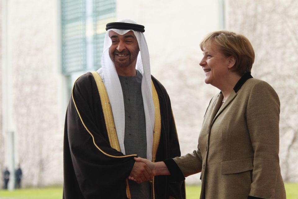 Merkel looks to tap UAE renewables