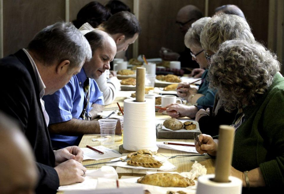 World Cornish pasty championships