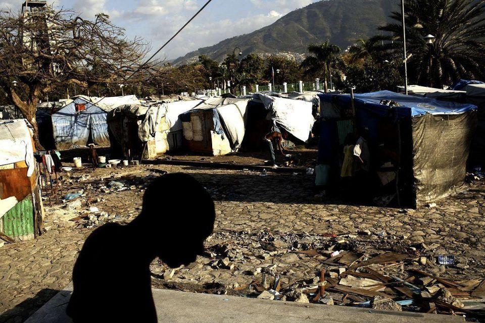 Haiti struggles two years on