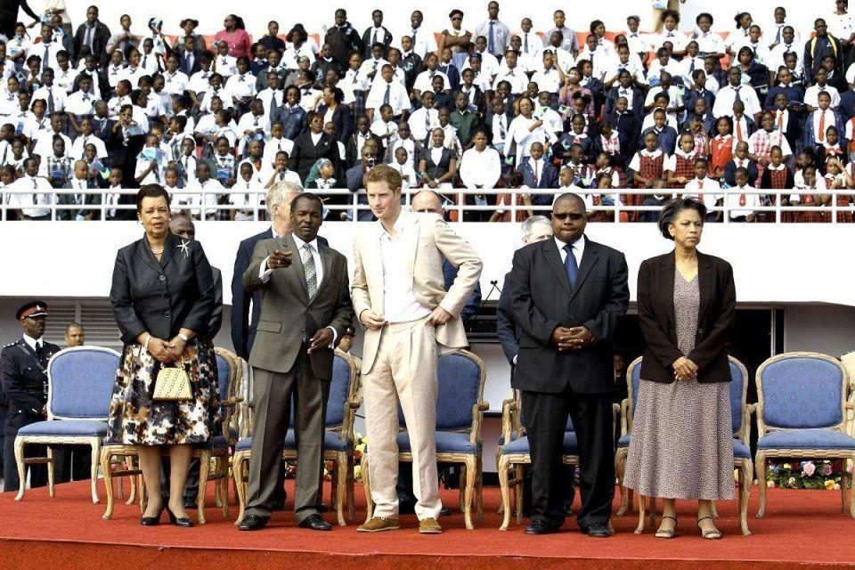 Prince Harry tours Bahamas