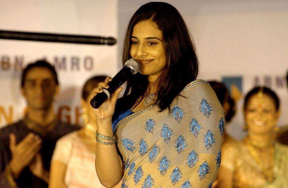 Bollywood star Vidya Balan in Dubai
