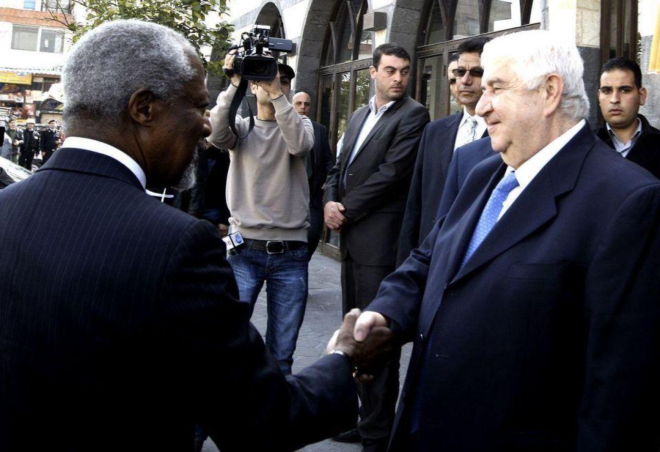 UN envoy Kofi Annan arrives in Syria