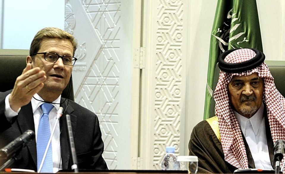 German foreign minister meets with Saudi counterpart