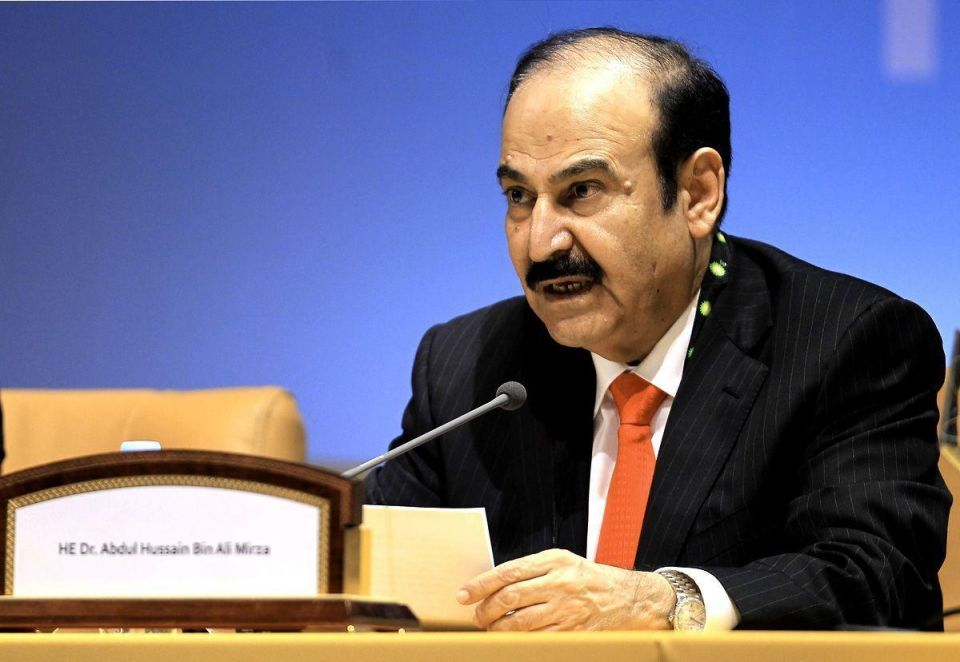 Bahrain energy projects not affected by oil slide - minister