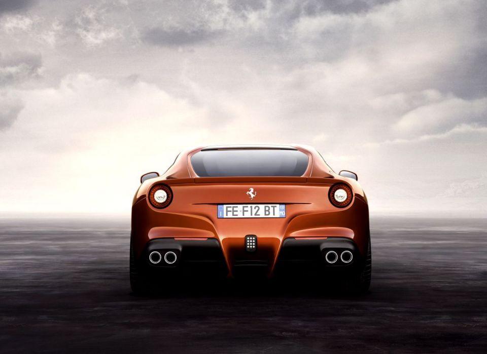 World première of the F12 Berlinetta