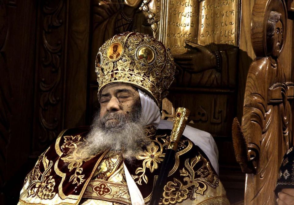Egyptians mourn Coptic Pope