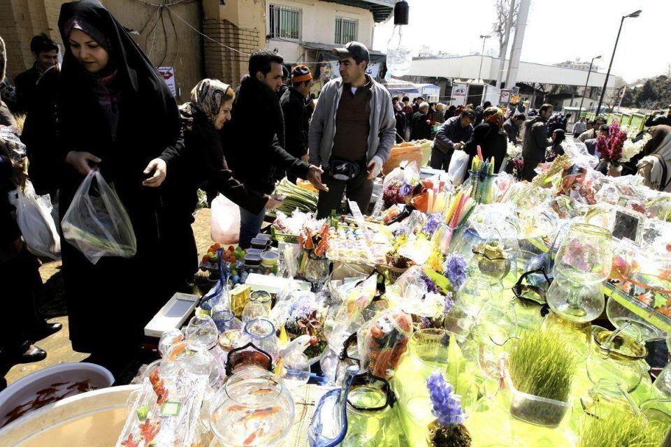 Iranians celebrate Persian new year