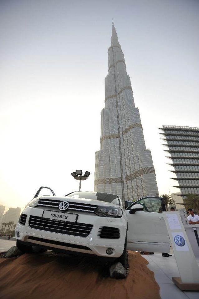 Volkswagen road show gets underway at Burj Steps