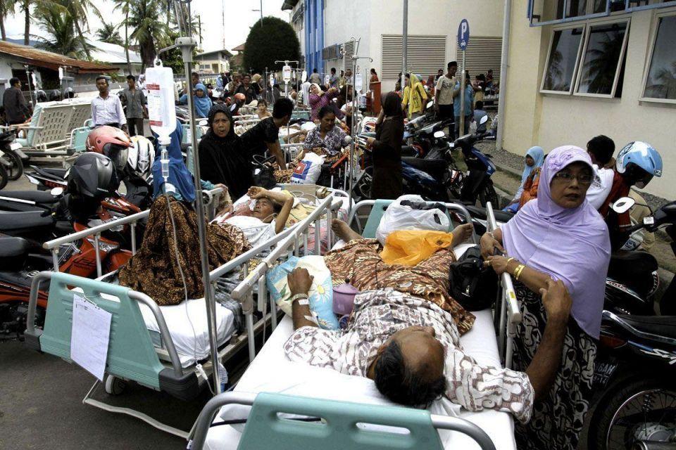 8.6 magnitude earthquake hits Indian Ocean