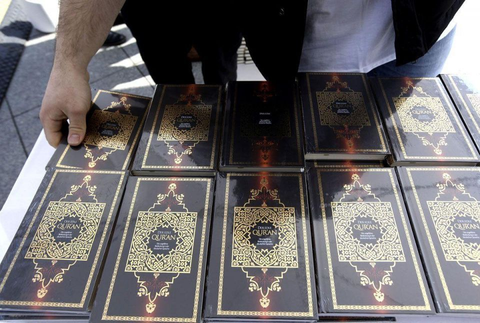 European woman charged with desecrating Quran