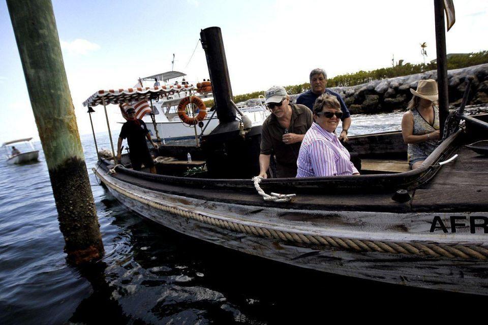 Humphrey Bogart's 'African Queen' boat back in service
