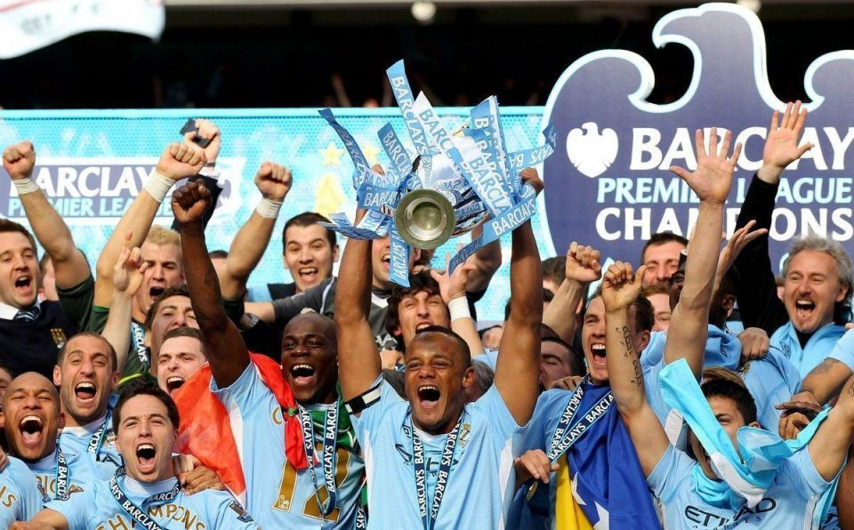 How Manchester City spent their way to the Premier League
