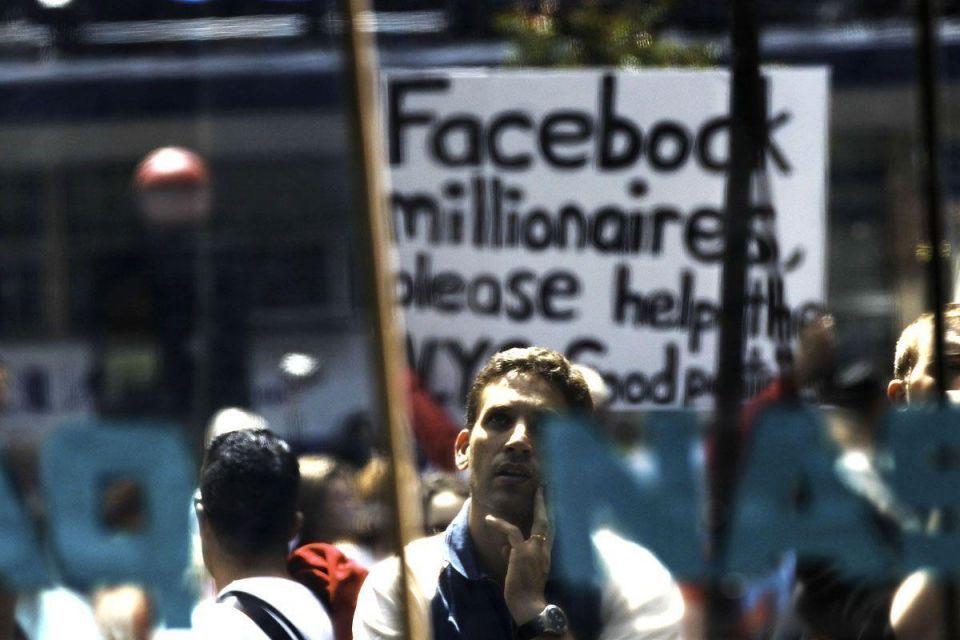 Historic Facebook debut falls flat