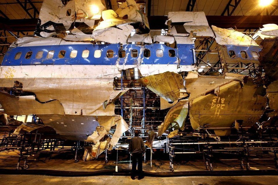 Two killed when private jet hits three homes
