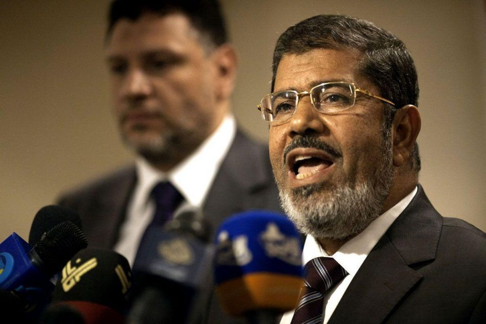 Egyptian prosecutor has received complaints against Mursi