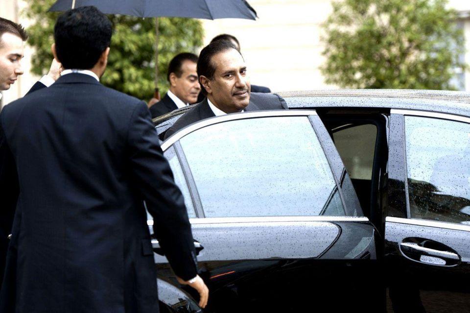Qatari Prime Minister in France to meet Francois Hollande