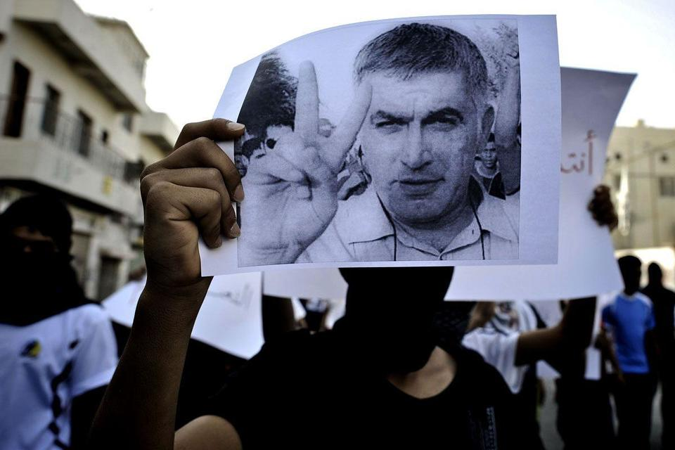 Bahrain court upholds jail term for activist Rajab