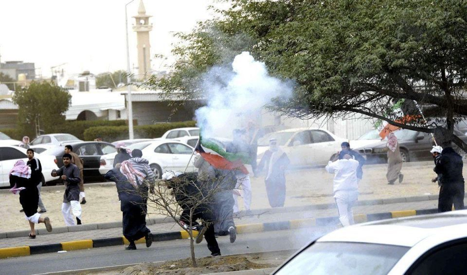 Stateless Arabs protest in Kuwait