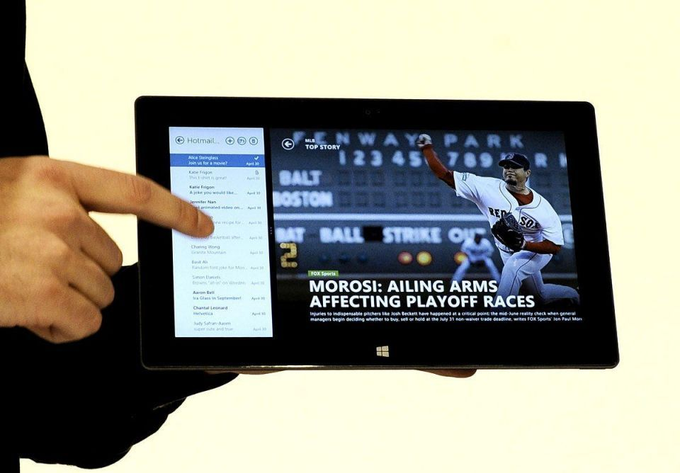 Microsoft enters tablet arena with 'Surface'