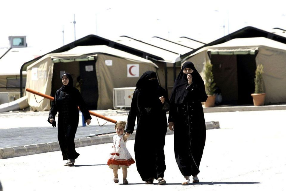 Saudi aid convoy leaves Riyadh for Syrian camps