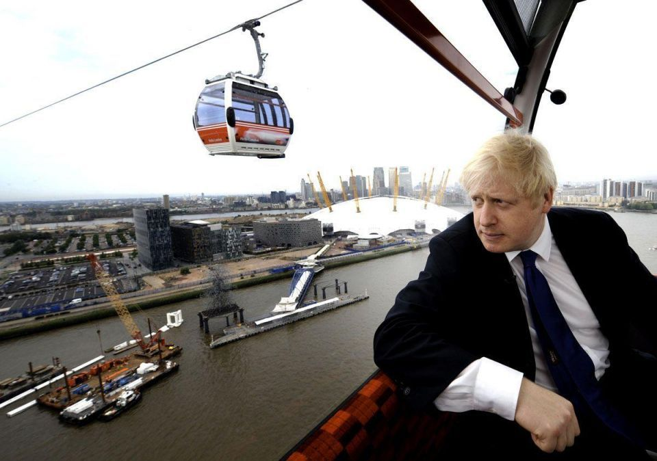 London's Emirates Air Line losing $78,000 a week