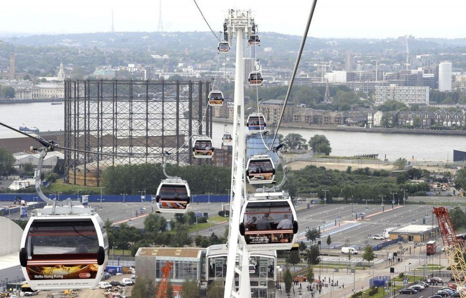$100m Emirates Air Line 'has just four regular users'
