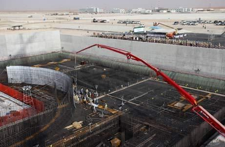 Construction work starts on UAE's third nuclear reactor