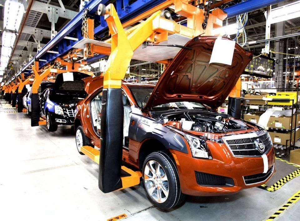 First 2013 Cadillac ATS rolls off assembly line