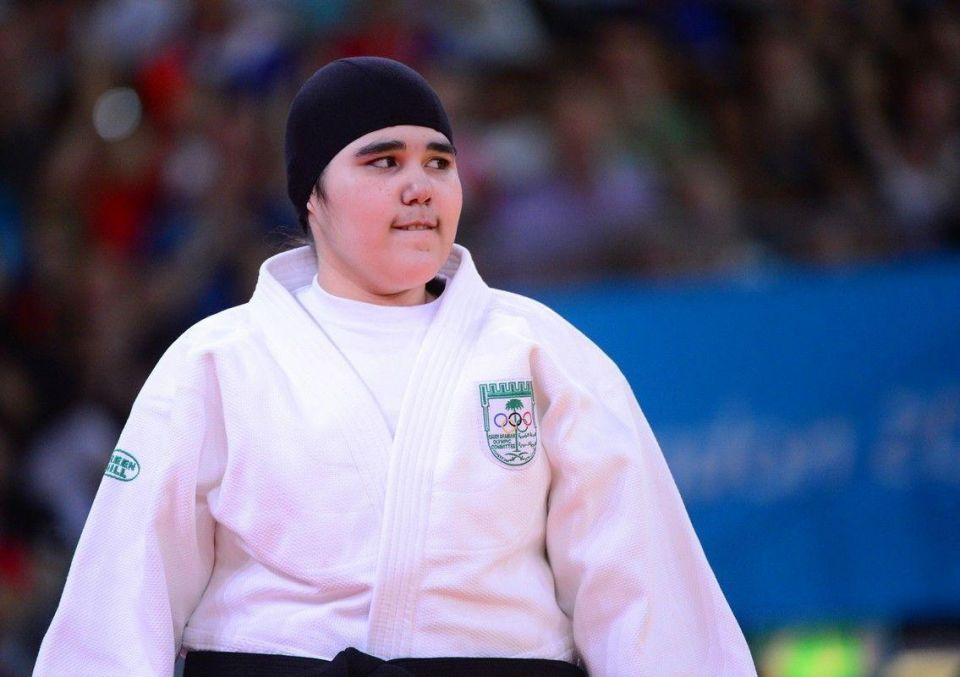 Saudi judoka's father says will sue over insults