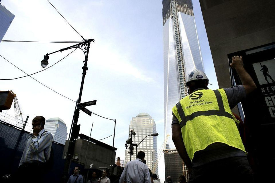 Welding incident causes fire scare at One World Trade Centre