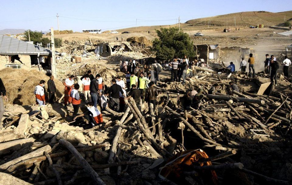 Iranians pick up pieces following devastating earthquakes