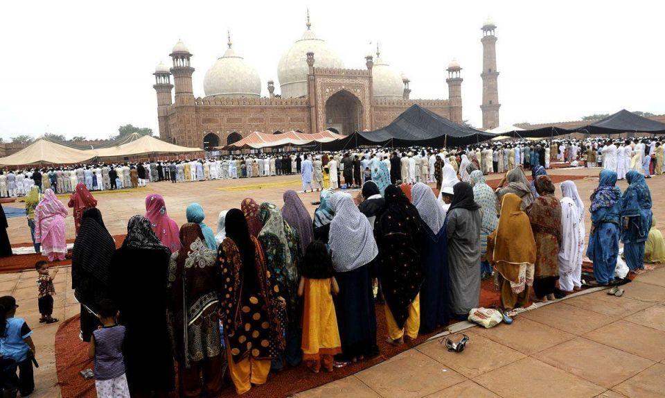 Eid Al-Fitr celebrated in Pakistan