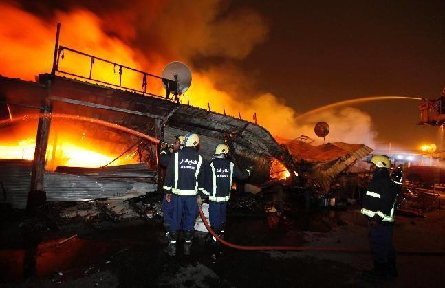 Bahrain traders to get compensation for market blaze