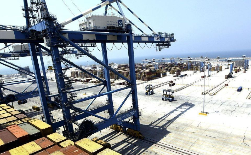 Abu Dhabi port sets new daily record for container handling
