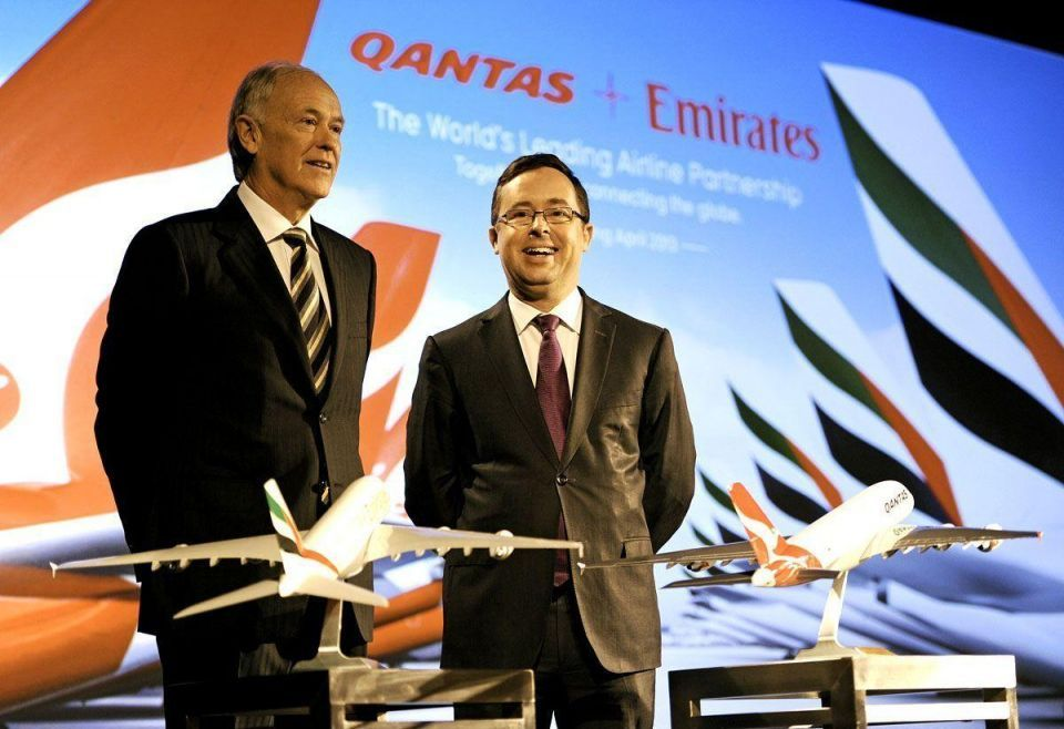 Qantas eyes profit on int flights by 2015 - CEO