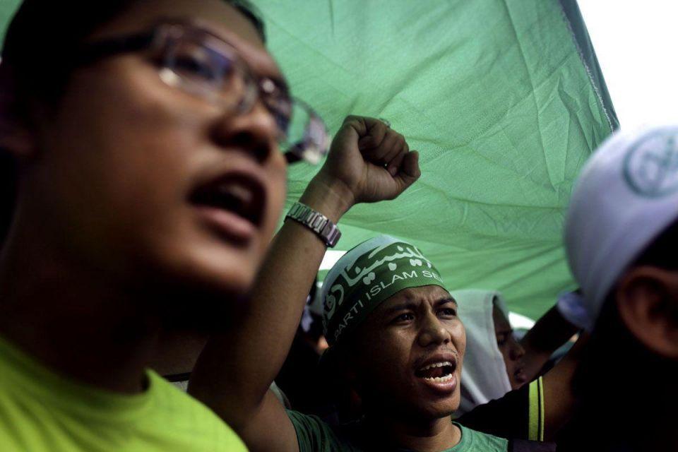 Malaysian Muslims protest against anti-Islam film in Kuala Lumpur